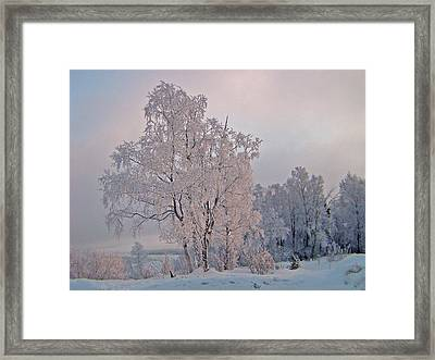 Framed Print featuring the photograph Frozen Moment by Jeremy Rhoades
