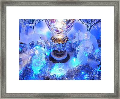 Frozen Nativity 2 Framed Print