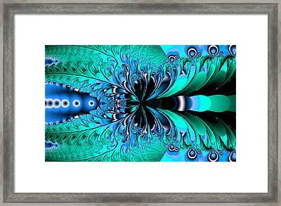 Frozen Phoenix Framed Print