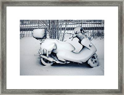 Frozen Ride Framed Print