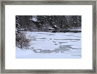 Frozen Silence  Framed Print