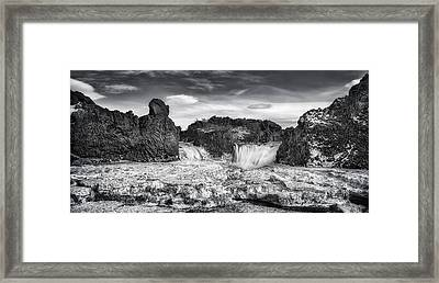 Frozen Splendor Framed Print by Evelina Kremsdorf