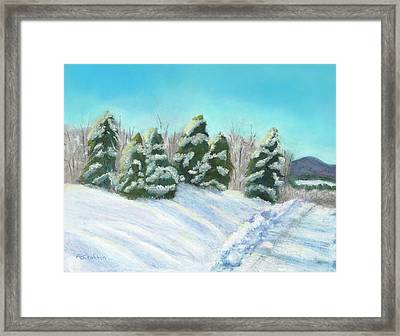 Framed Print featuring the painting Frozen Sunshine by Arlene Crafton