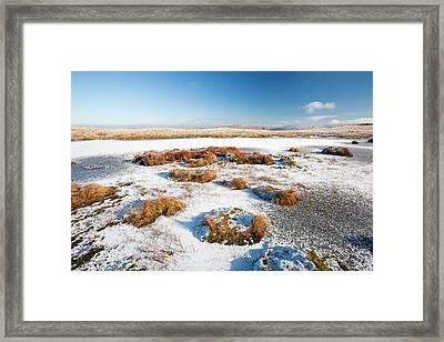 Frozen Tarn Framed Print