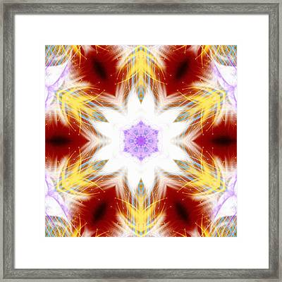 Frozen Whispers Framed Print