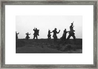 Frst German Prisoners Framed Print