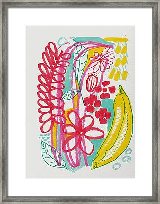 Fruit Abstract Framed Print