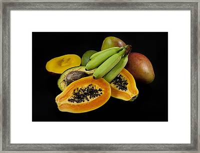 Fruit Framed Print by Alessandro Matarazzo