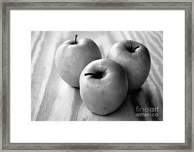 Fruit And Grain Framed Print by Dan Holm