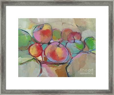 Fruit Bowl #5 Framed Print by Michelle Abrams