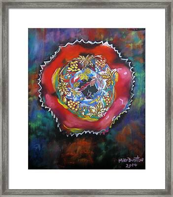 Fruit Bowl Framed Print
