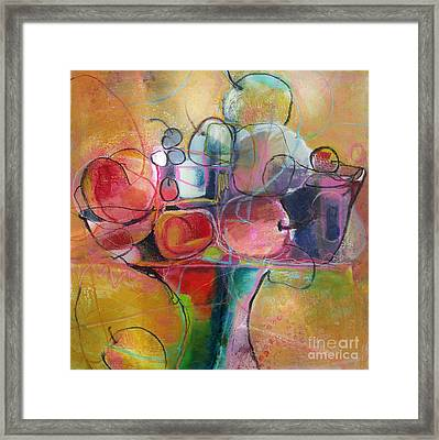 Fruit Bowl No.1 Framed Print by Michelle Abrams