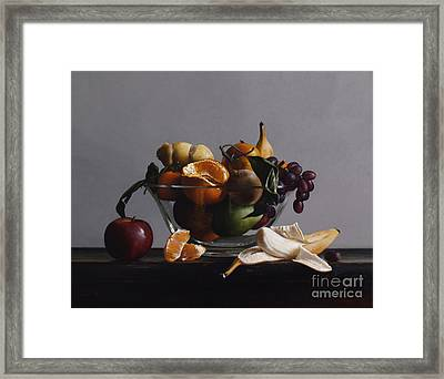 Fruit Bowl No.2 Framed Print
