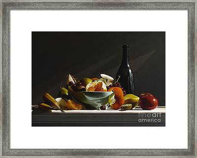 Fruit Bowl No.3 Framed Print