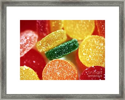 Fruit Candy Framed Print by John Rizzuto