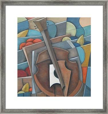 Fruit Cello Framed Print