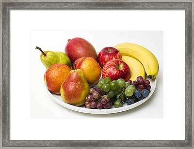 Fruit Dish Framed Print by Donald  Erickson