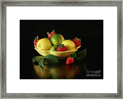Fruit Explosion Framed Print by Inspired Nature Photography Fine Art Photography