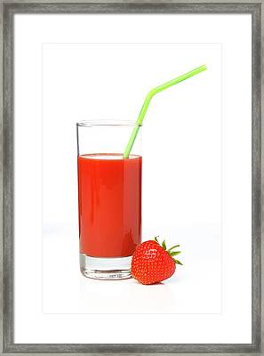 Fruit Juice Framed Print by Wladimir Bulgar