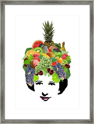Fruit Lady Framed Print