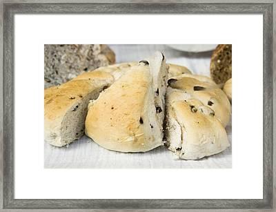 Fruit Loaf Framed Print by Tom Gowanlock