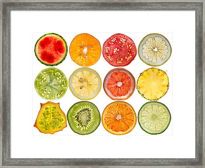 Fruit Market Framed Print by Steve Gadomski