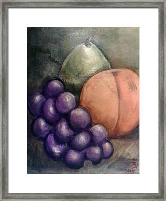 Fruit Of Spirit Framed Print