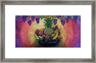 Fruit Passion Framed Print by Jacqueline Martin