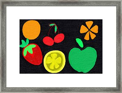 Fruit Framed Print by Phillip J Gordon