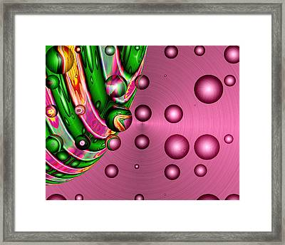 Fruit Punch Framed Print by Wendy J St Christopher