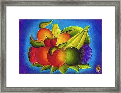 Fruit Framed Print by Richard Bantigue