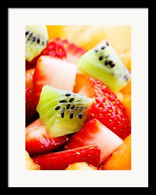 Salad Photographs Framed Prints