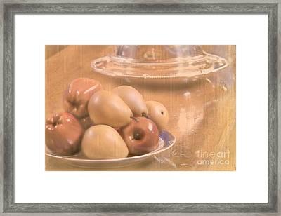 Fruit Still Life Framed Print by Cindy Garber Iverson