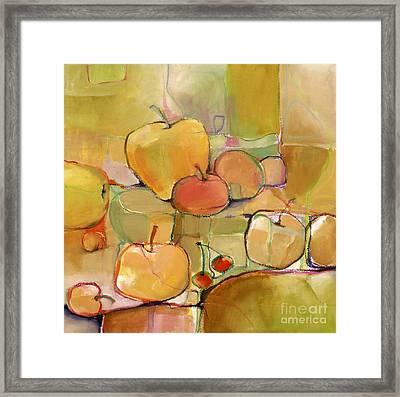 Fruit Still Life Framed Print by Michelle Abrams