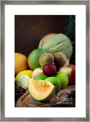 Fruit Variety Framed Print by Mythja  Photography