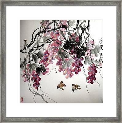Fruitfull Size Framed Print by Mao Lin Wang