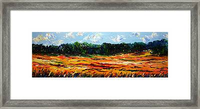 Framed Print featuring the painting Fruition by Meaghan Troup