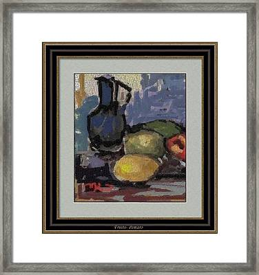 fruits F2 Framed Print