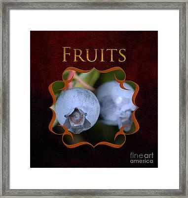 Fruits Gallery Framed Print by Iris Richardson