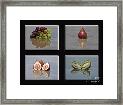 Fruitscapes Collage One Framed Print