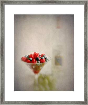 Fruity Flavors  Framed Print by David and Carol Kelly