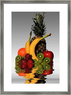 Fruity Reflections - Light Framed Print by Shane Bechler
