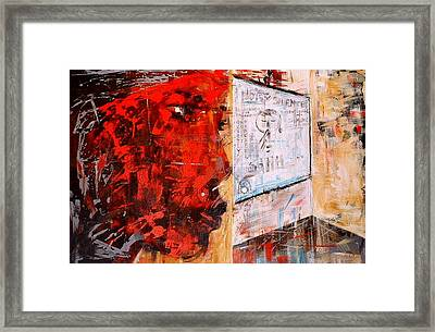 Frustrations Of An A... Framed Print by Laurend Doumba