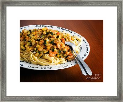 Frutti Di Mare Framed Print by Sinisa Botas
