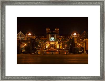 Fsu Westcott Building/ruby Diamond Auditorium Framed Print by Frank Feliciano