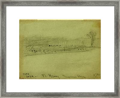 Ft. Henry. Tennessee River Framed Print by Quint Lox