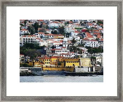 Fuchal Madeira Framed Print by Tracy Winter