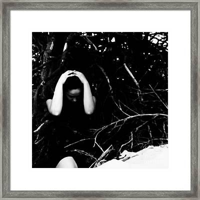 Fuck Framed Print by Jessica Shelton