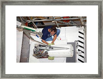 Fuel Cell From Space Shuttle Discovery Framed Print