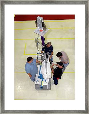 Fuel Cell From Space Shuttle Endeavour Framed Print by Glenn Benson/nasa